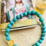 """Saraswati-Armband """"Golden Dragon"""""""